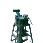 SEMI AUTOMATIC BLOCK MEKING MACHINE