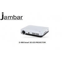 Jambar JD-900 DLP 3D Smart LED PROJECTOR Best For Home Cinema Education Presenation