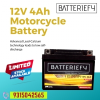 Two Wheeler batteries for Motorcycles (bike) and Scooters