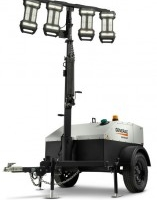 GENERAC MLT4060M-STD - 6KW TOWABLE DIESEL HORIZONTAL MAST LIGHT TOWER W/ MITSUBISHI ENGINE & MANUAL