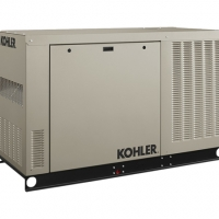 KOHLER 50KW EMERGENCY STANDBY POWER GENERATOR (120/240V THREE-PHASE)