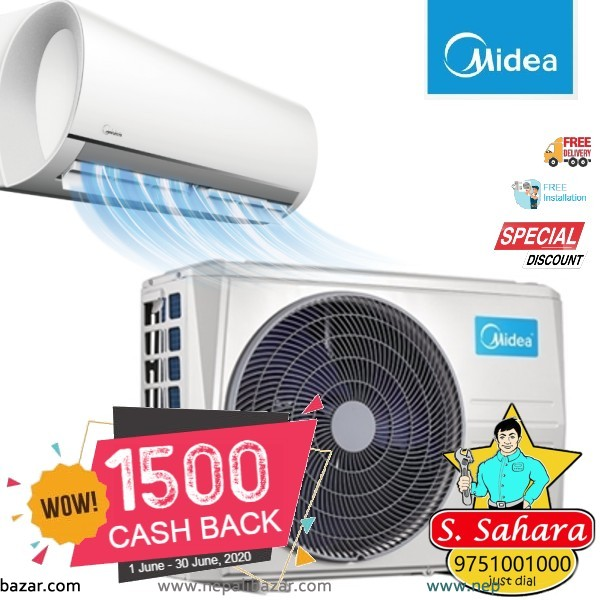 Midea Wall Mounted Air Conditioner - Blanc series